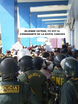 A LA POLICIA SE LA RESPETA