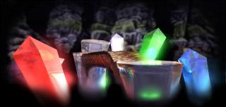 Où trouver le calice des cavernes de crystal dans Medievil