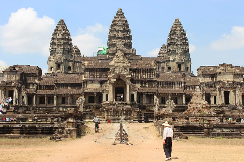 famous architectural buildings around the world. Angkor Wat - Cambodia Famous Architectural Buildings Around The World O
