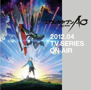 Eureka Seven Astral Ocean anime secuela anuncio