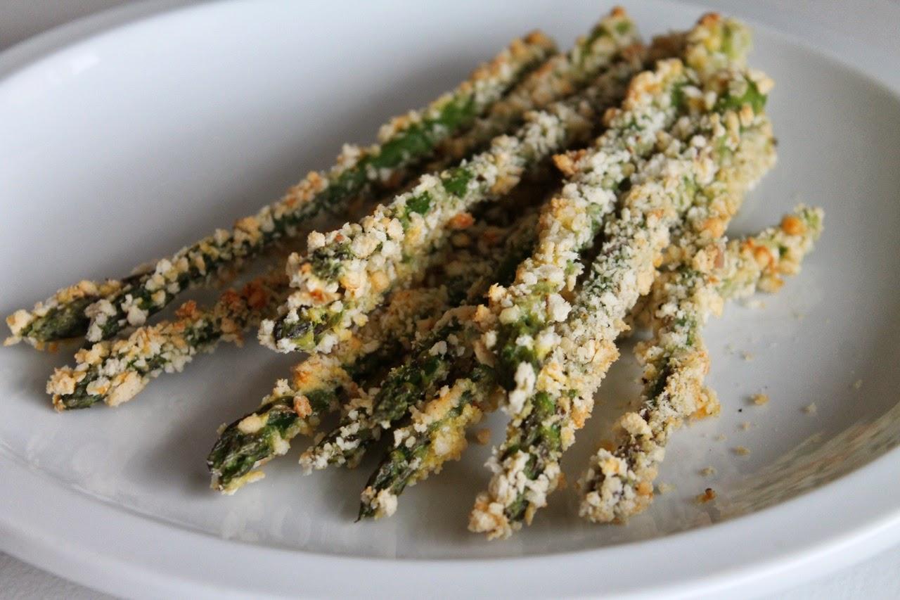 Crispy Breaded Asparagus