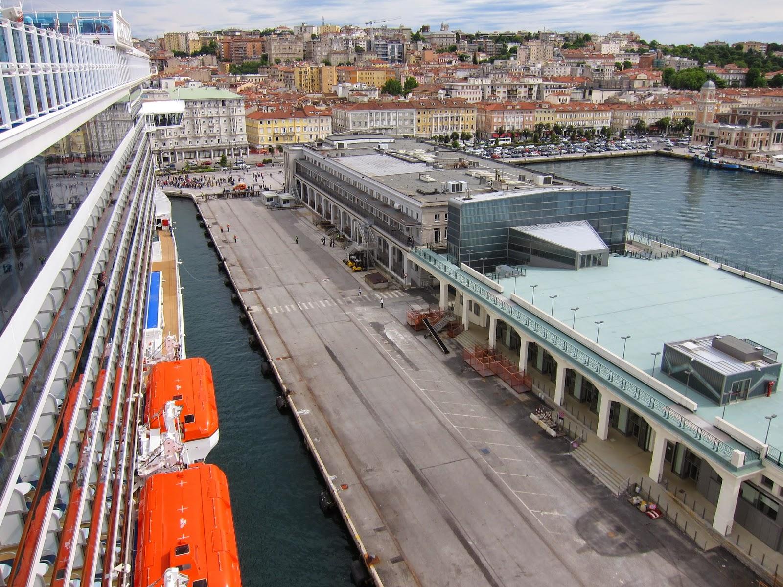 Per Trieste Terminal Passeggeri un 2015 a gonfie vele