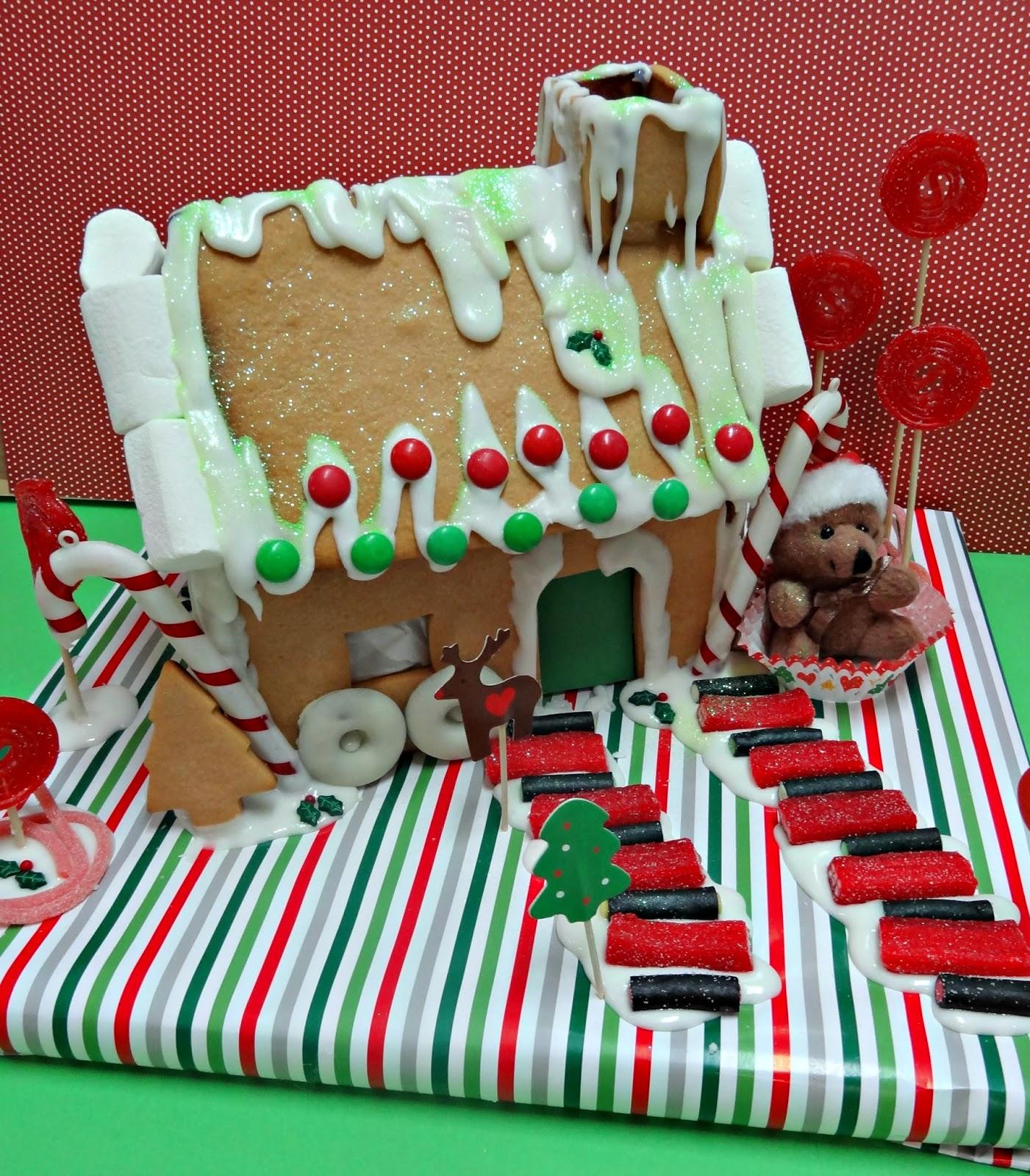 Celebra con ana compartiendo experiencias creativas navidad - Casitas de navidad ...