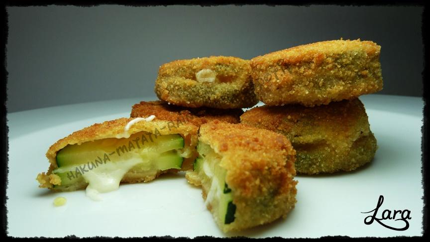 sandwich di zucchine (zucchine filanti)