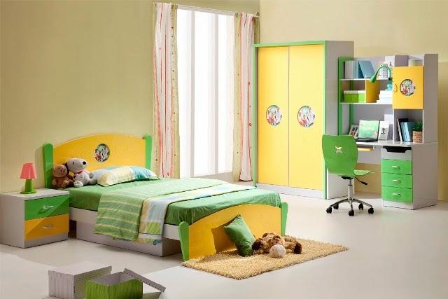 gambar desain kamar tidur anak perempuan