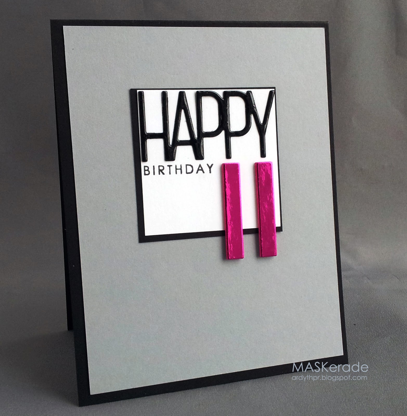 MASKerade Happy 11th Birthday – 11th Birthday Cards