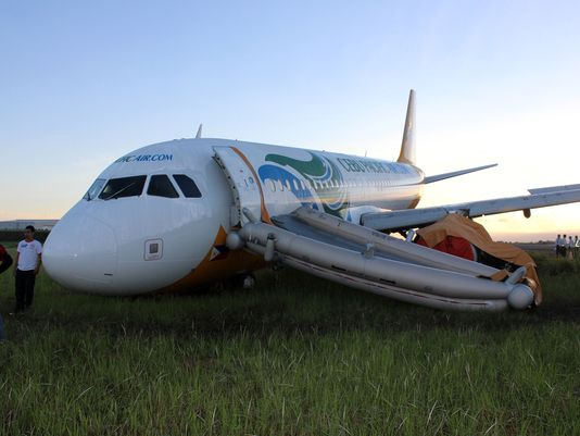 cebu pacific aircraft davao accident