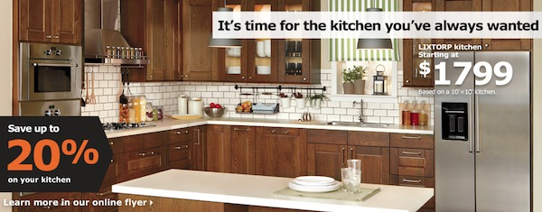 How To Save Thousands On An Ikea-Type Kitchen: Ikea Kitchen Sale