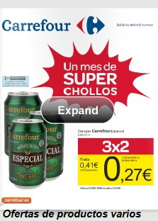 catalogo carrefour chollos 26-4-2013