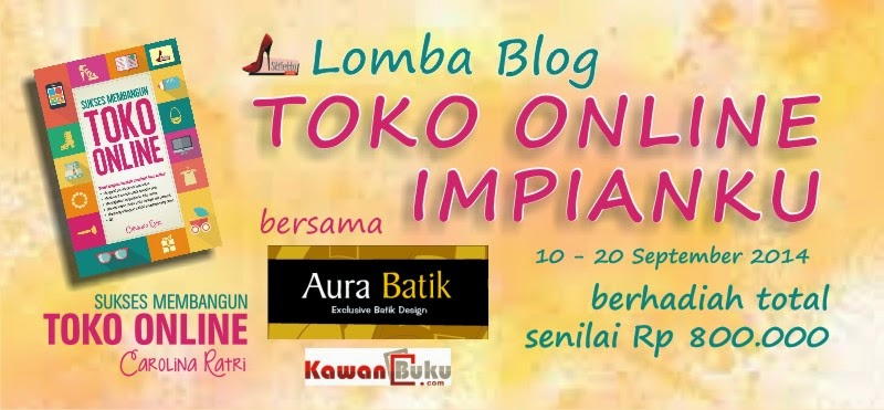 Lomba Blog toko online impianku