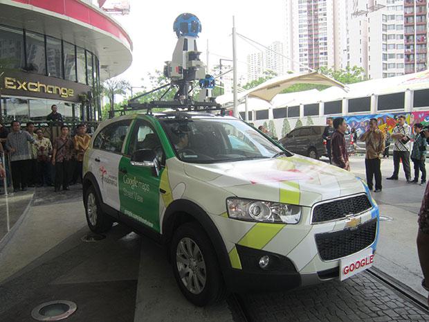 Google Street View Hadir di Indonesia