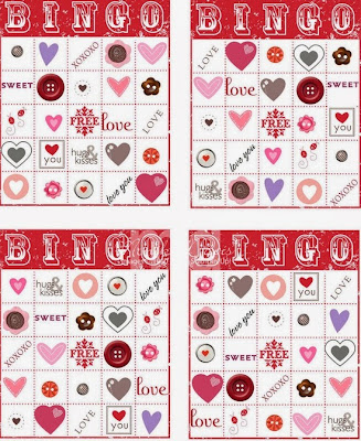 Valentine's Day Bingo Cards For Kids 7
