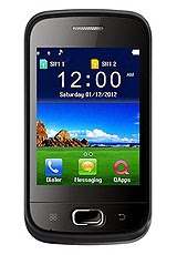 "JAVA, Dual-Sim, 3.2"" Screen, 104x57x13.3, 950mAH battery"