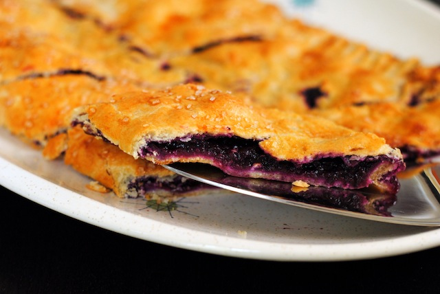 Blueberry Slab Pie from Spoon Fork Bacon