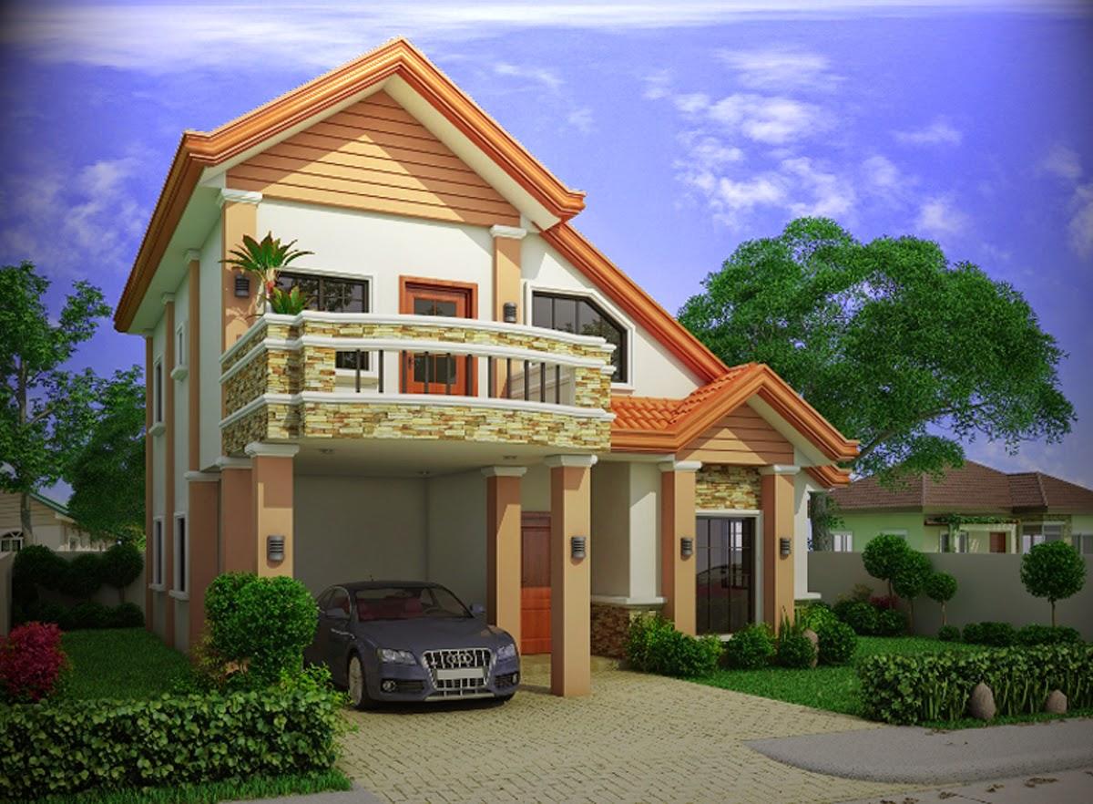 gambar lantai atas desain rumah minimalis sederhana