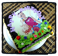 Heavenly Choc Moist Cake + Edible Image