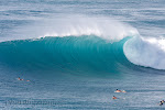 Empty wave at Honolua