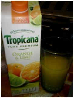 Tropicana orange creations