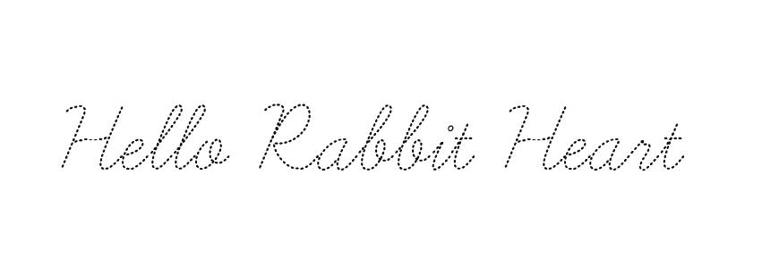 Hello Rabbit Heart