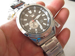SEIKO 5 SPORTS 50th ANNIVERSARY - SEIKO 5 SPORTS 24 HOURS BULL CROWN HEAD - SEIKO SSA167 -AUTOMATIC