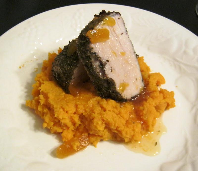 Herb Roasted Pork Tenderloin With Preserves Recipe — Dishmaps