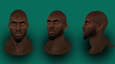 NBA 2K13 Kevin Garnett Injured Cyberface Mod