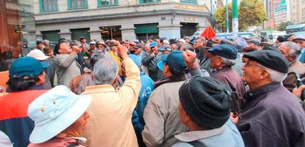 Pensiones en Bolivia