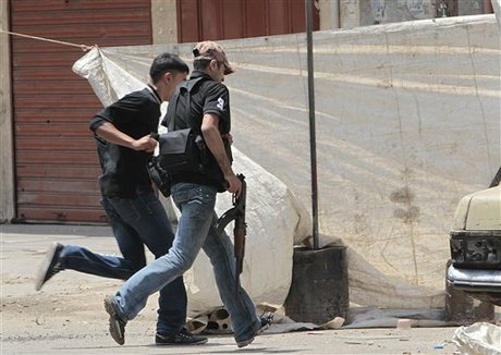 Fighting Erupts in Lebanon LebanonViolenceMay2012