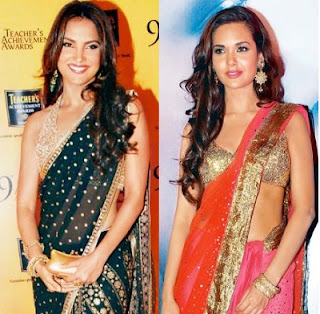 Esha Gupta looks like Lara Dutta
