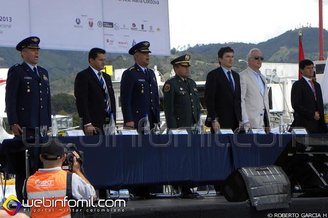 Inauguración F-AIR Colombia 2013