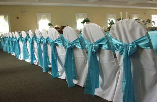 details different ways to tie chair sashes