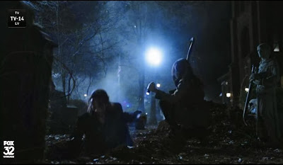 Sleepy Hollow grave digging screencaps