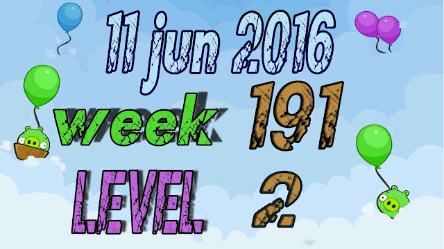 Angry Birds Friends Tournament level 2 Week 191