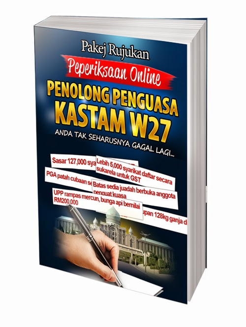 Download Contoh Soalan Online Penolong Penguasa KASTAM W27