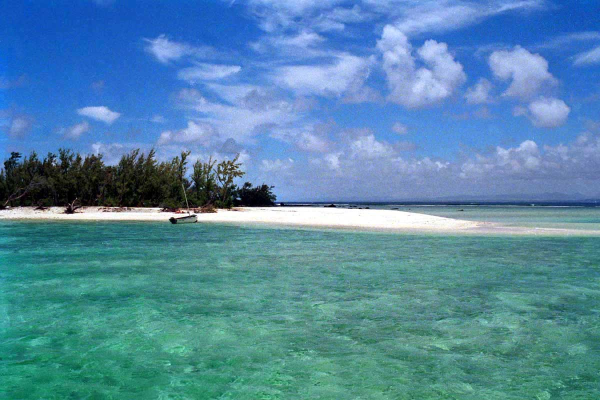 Flat Island Beach Mauritius