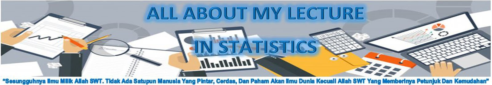 All About My Lecture In Statistics