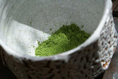 poudre de thé