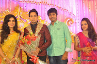 Celebraties at Actor Bharat n Jessy Wedding Reception Photos+%252861%2529 Actor Bharath n Jessy Wedding Photos