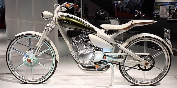 All About Speed...: Video : Yamaha Y125 Moegi at Tokyo