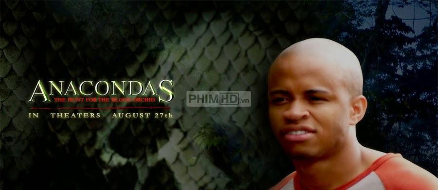 Phim Rắn Khổng Lồ 2 : Truy Tìm Huyết Lan VietSub HD | Anacondas 2 : The Hunt for the Blood Orchid 2004