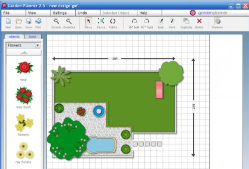 vegetable garden design online free