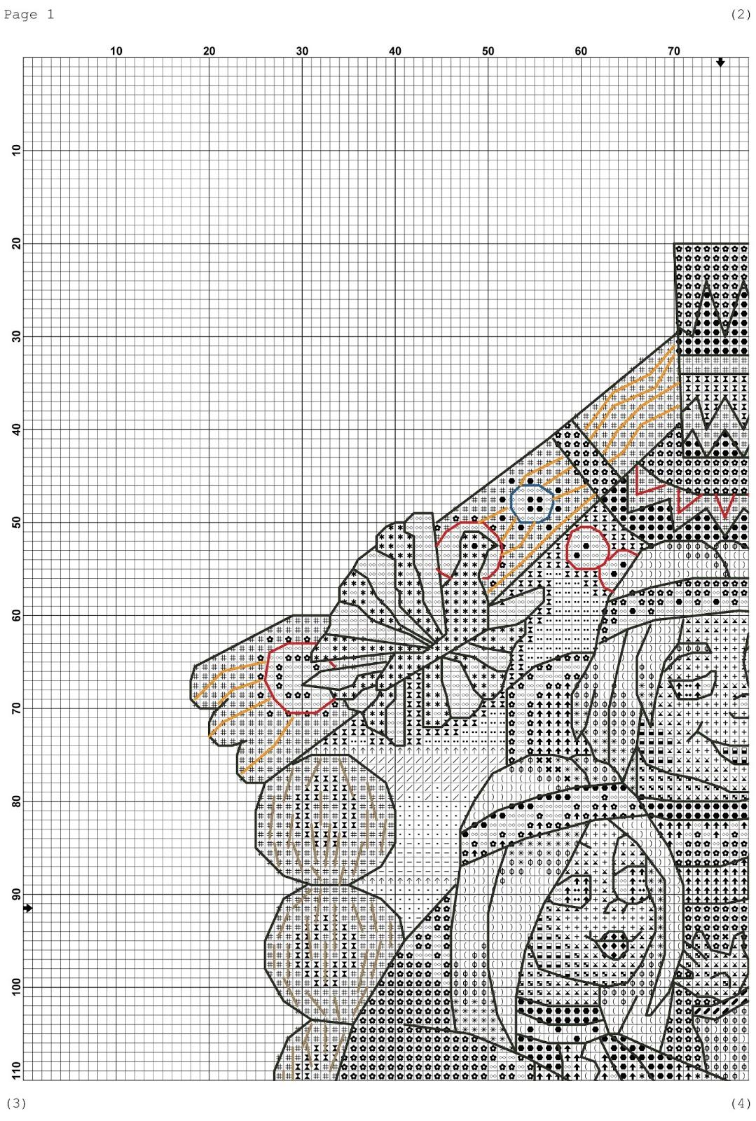 Вышивка крестом оберегов схемы для вышивки 552