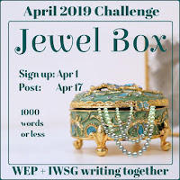 JOIN WEP FOR  APRIL 2019! OUR CHALLENGE, JEWEL BOX...