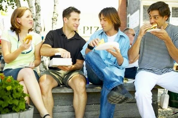 Los adolescentes y su grupo de amigos
