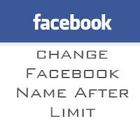 Cara Mengubah Nama Facebook yang Sudah Tidak Bisa Lagi Diubah