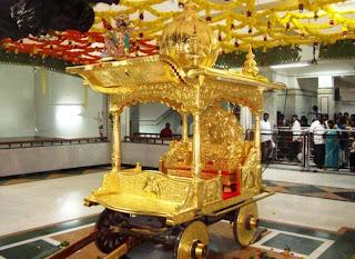 Saibaba's Golden Chariot