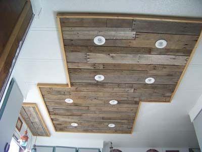 Mueblesdepalets.net: iluminación en una cocina hecha con tablas de ...
