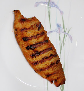 Grilled Spicy Tilapia Fillets