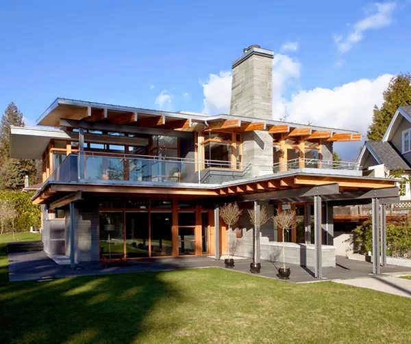 The most modern houses design west coast cool by for West coast home plans