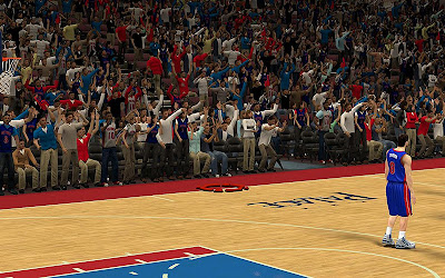 NBA 2K13 Detroit Pistons Stadium Crowd Fix Patch